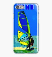 Wind Surfer iPhone Case/Skin