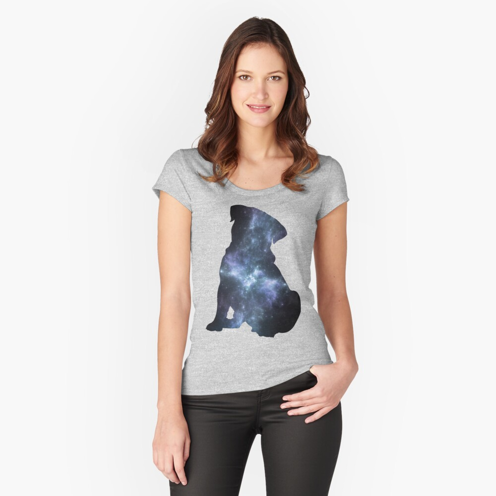Universal Pug Women's Fitted Scoop T-Shirt Front