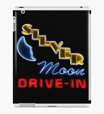 Silver Moon Drive In iPad Case/Skin