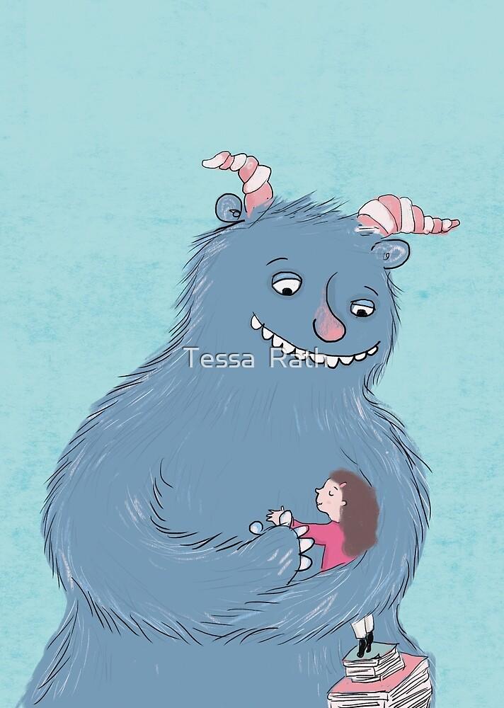 Monster hug by Tessa  Rath