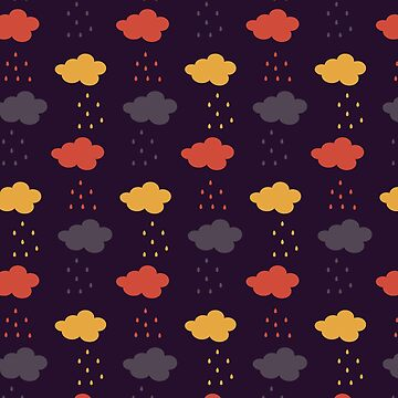Happy colorful clouds by Lukovka