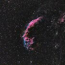 Eastern Veil Nebula by Jeff Johnson