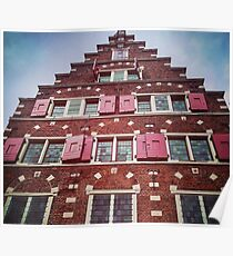 Amsterdam canal house  Poster