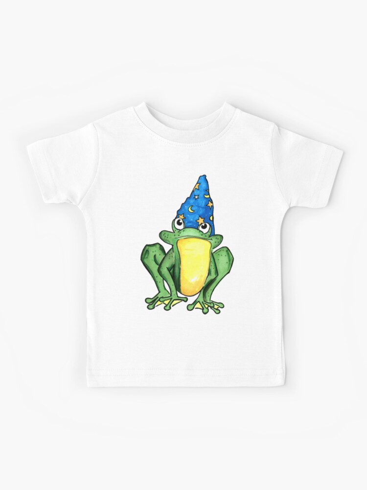 Youth Fit Long Sleeve Crew Neck Cotton Be A Frog T-Shirt for Youth
