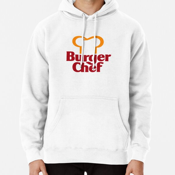 Burger Chef 1980's - Distressed Pullover Hoodie