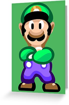 Luigi 16 Bit by likelikes