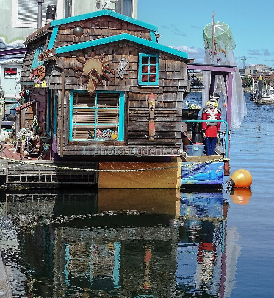 Whimsical Floating House by photosbydeniece