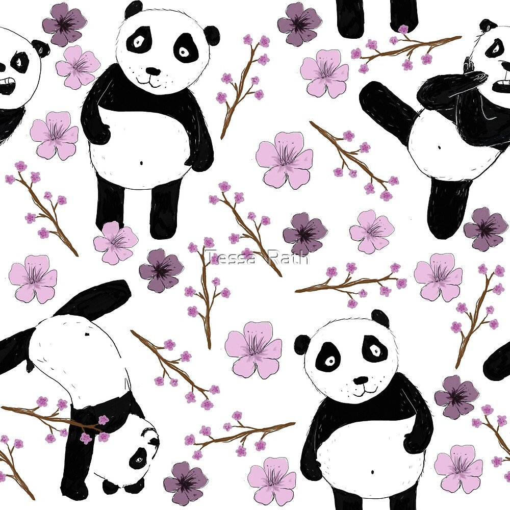 Panda does not kung fu by Tessa  Rath