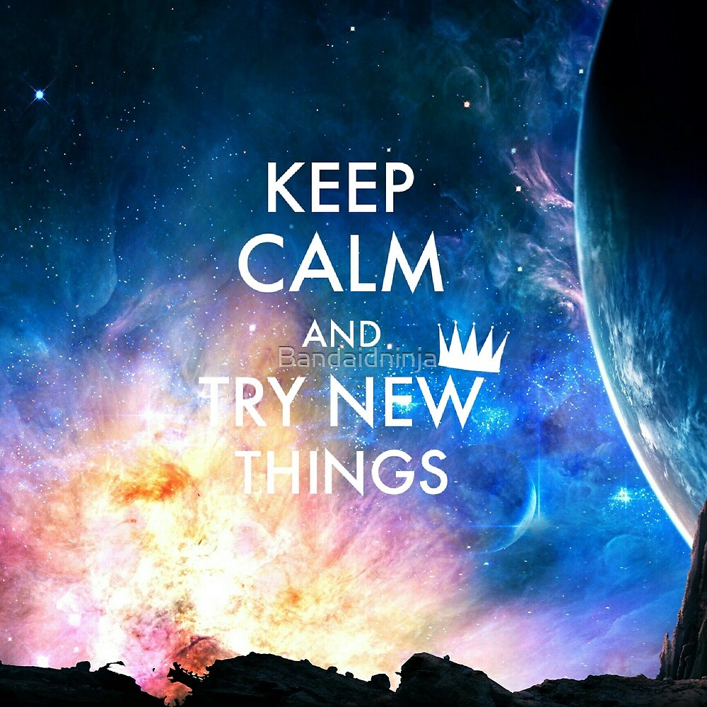 new things, new galaxy by Bandaidninja