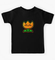 Fire Flower Kids Tee