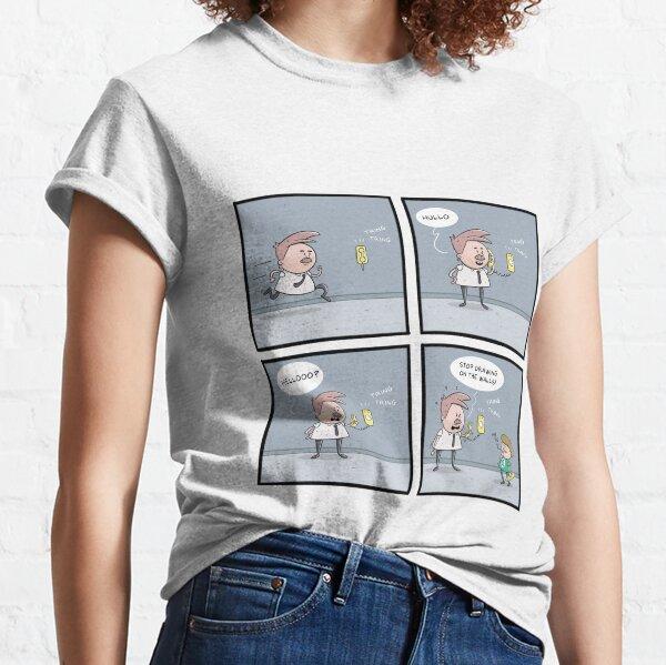 Prank Call Comic Classic T-Shirt