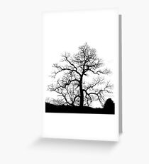 Electric Tree Greeting Card