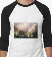 Albert Bierstadt - Rocky Mountain Landscape T-Shirt