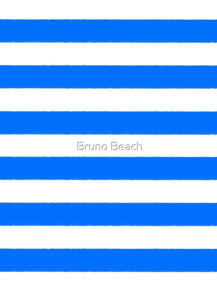 Hand drawn sailor stripes, seamless pattern by BrunoBeach
