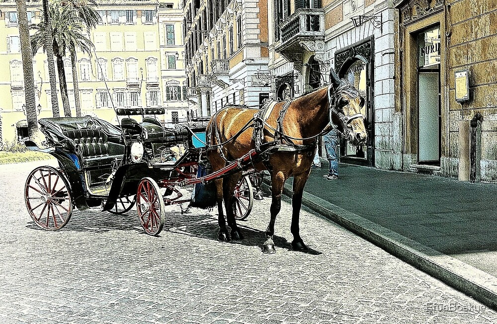 A RIDE IN ROME by EfuaBoakye