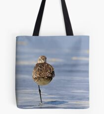 """Weather Vane"" -- Marbled Godwit Tote Bag"