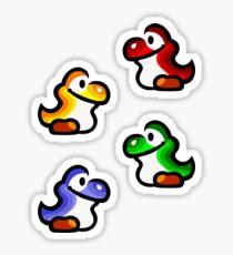 Yoshi Babies Sticker
