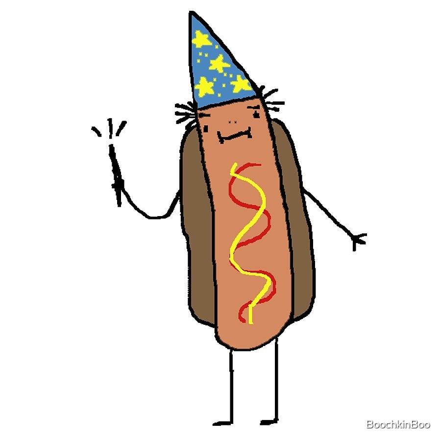 Hot Dog Wizard by BoochkinBoo