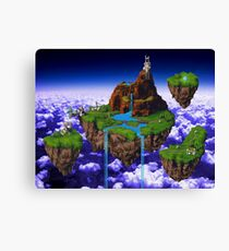 Kingdom of Zeal - Chrono Trigger Canvas Print
