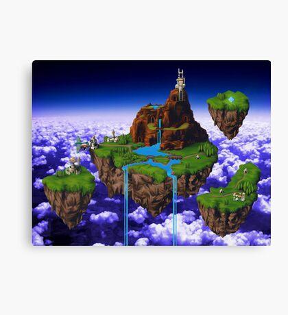 Kingdom of Zeal - Chrono Trigger Canvas Print