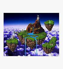 Kingdom of Zeal - Chrono Trigger Photographic Print