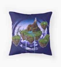 Kingdom of Zeal - Chrono Trigger Throw Pillow