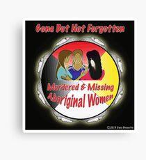 Murdered & Missing Aboriginal Women Canvas Print