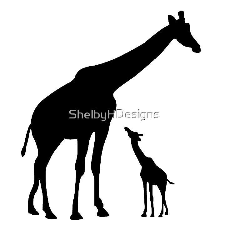 Giraffe Love by ShelbyHDesigns