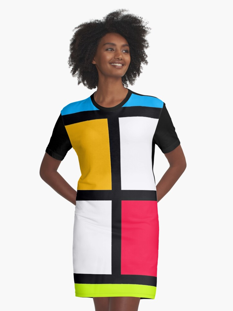 Graphic pattern Graphic T-Shirt Dress Front