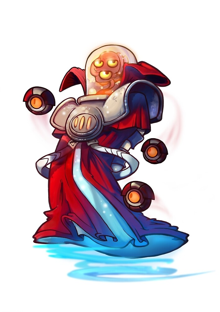 Voltar the Omniscient - Awesomenauts by STOANGaming