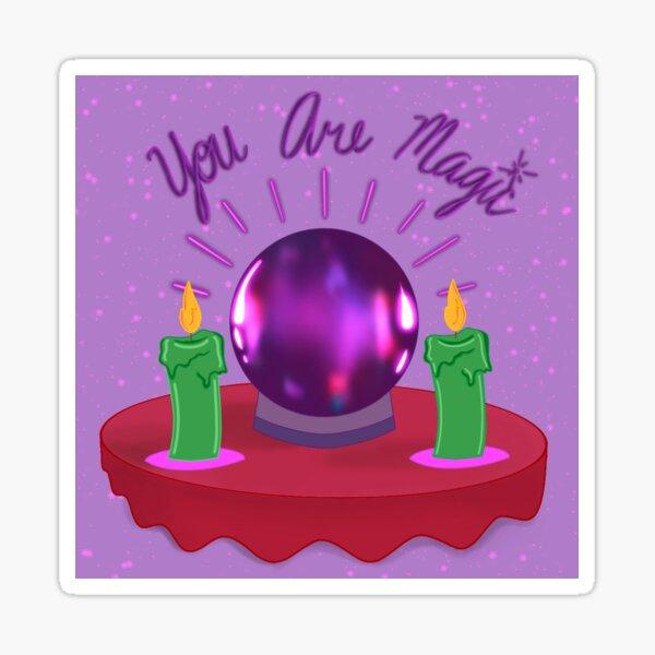 Fortune Teller Crystal Ball  Sticker