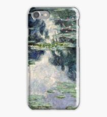 Claude Monet - Pond with Water Lilies (1907)  iPhone Case/Skin