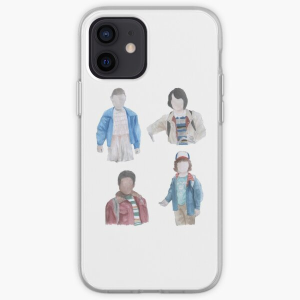 Stranger Things Watercolor 1 iPhone Soft Case
