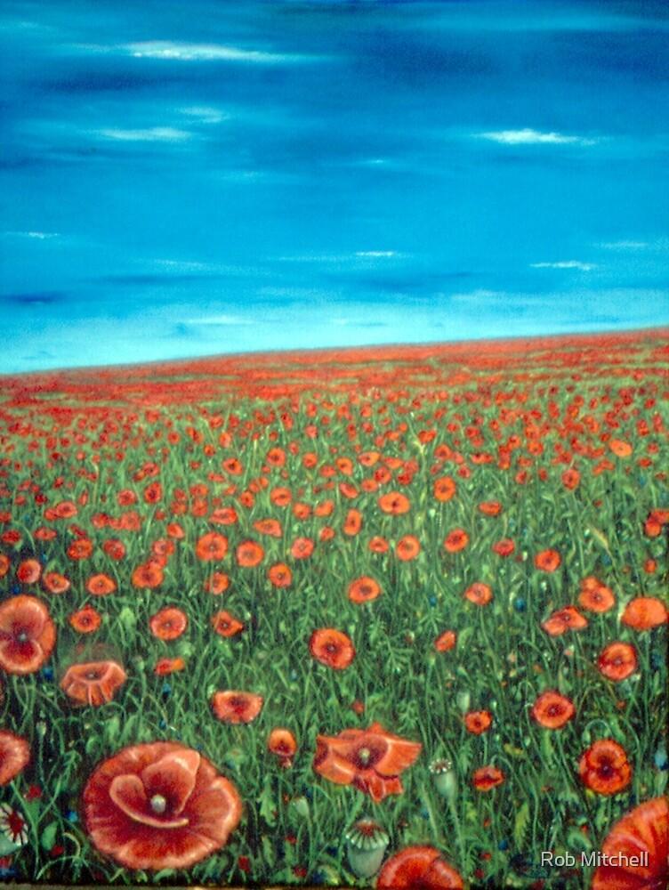 Poppyfield by Rob Mitchell