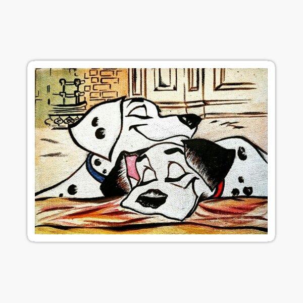 Pongo ❤ Perdita  Sticker