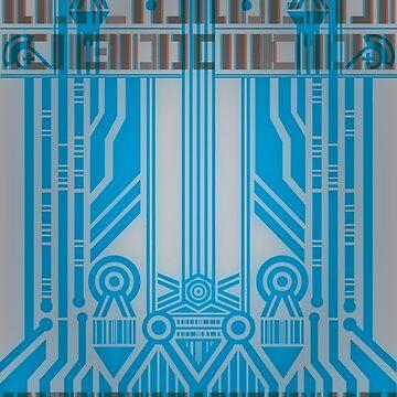 Cyberpunk Pattern 4 by Aaro26