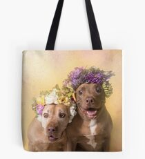 Flower Power, Indie and Choco Tote Bag