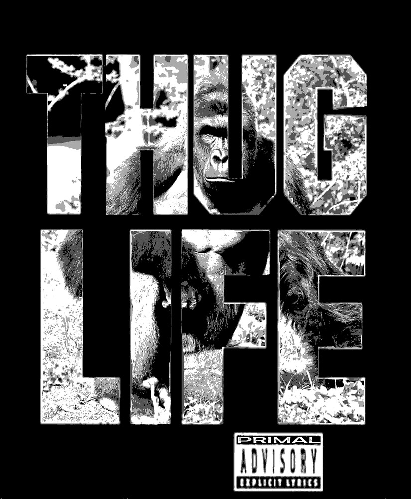 harambe thug life by earlstevens