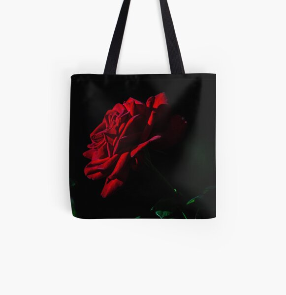 rose All Over Print Tote Bag