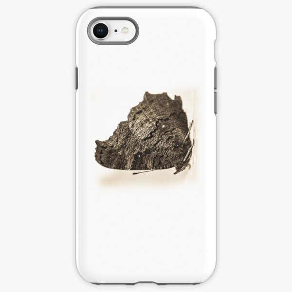 butterfly b&w iPhone Tough Case