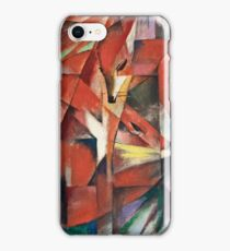Franz Marc - The Foxes (1913)  iPhone Case/Skin