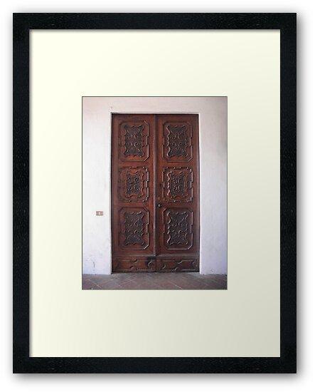 Ornate Little Door by Studio8107