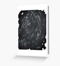 Gothic-Devil Satanic/Occult Art Greeting Card