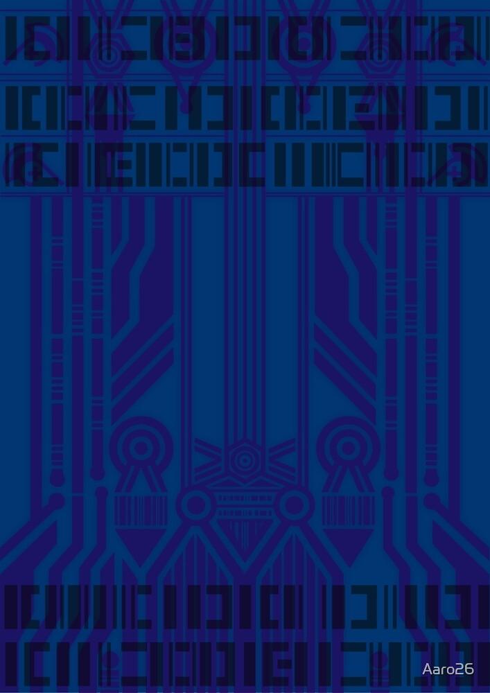 Cyberpunk Pattern 6 by Aaron Dempsey