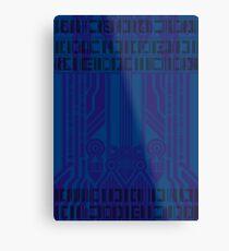 Cyberpunk Pattern 6 Metal Print