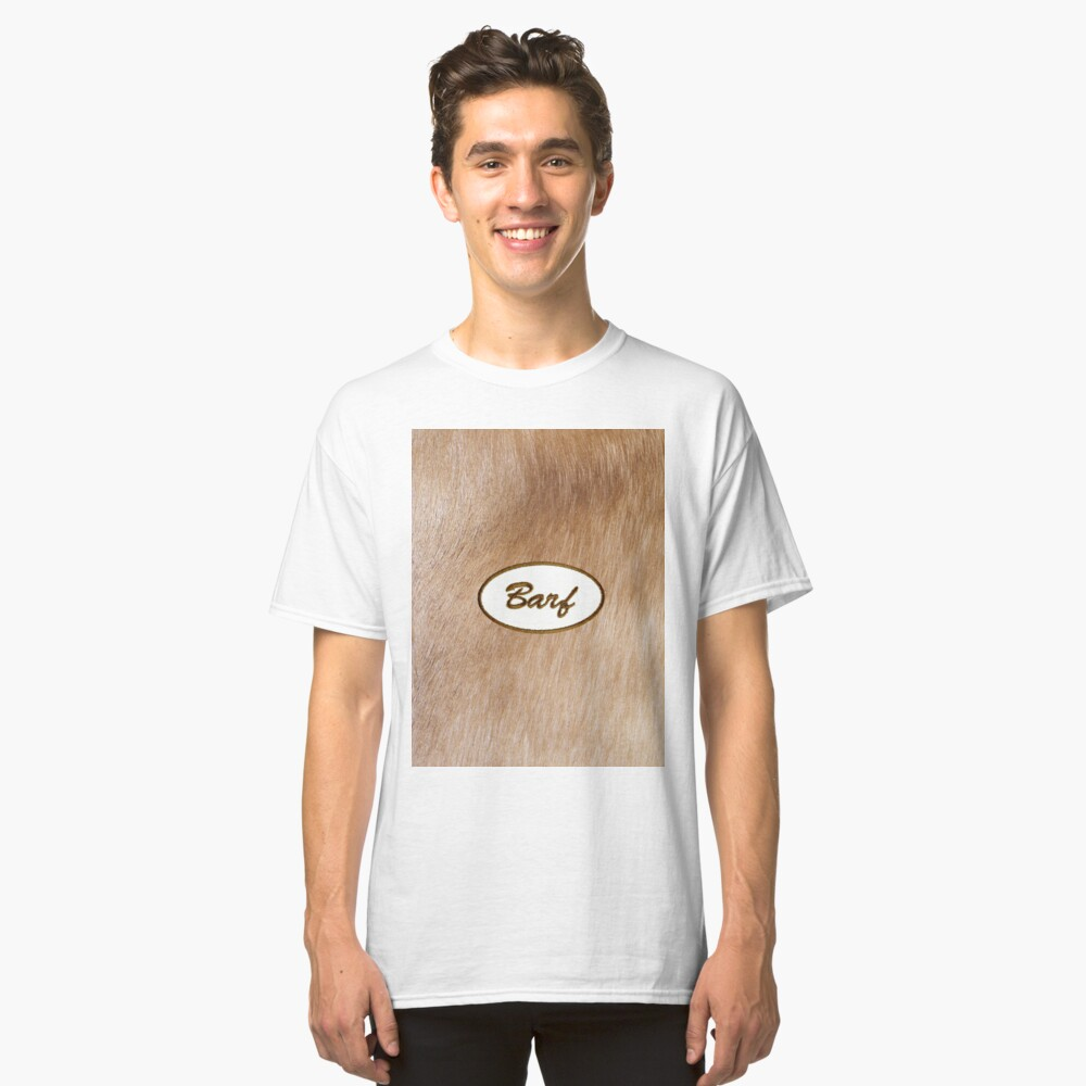 Barf Classic T-Shirt Front
