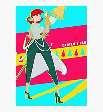 Dexter's Lab Photographic Print