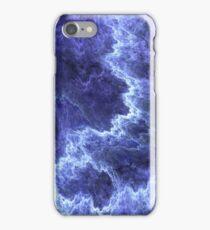 dark blue chips iPhone Case/Skin