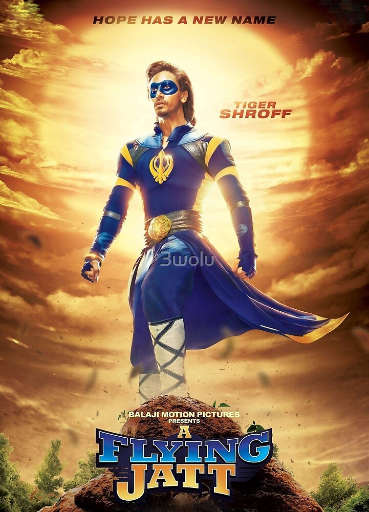 A FLYING JATT by 3wolu