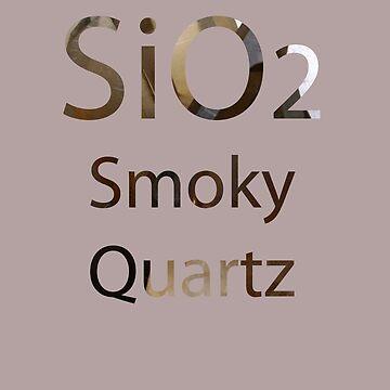 SU: Smoky Quartz Chemical Formula by TheVioletWitch